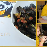Curried Mussels, Not Muscles