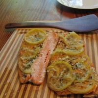 Lemon Dill Salmon Filets