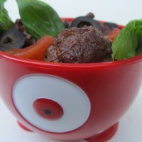 Quick Dinner: Meatball Salad