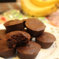 Dark Chocolate Banana Bites