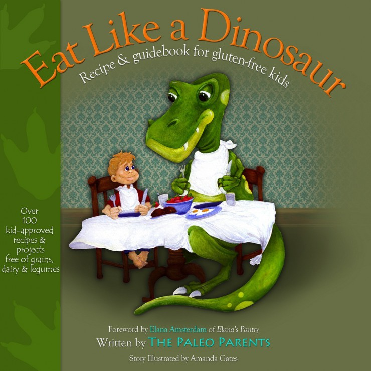 Be a Dinosaur: EAT YOUR WAY THROUGH THE BOOK Giveaway