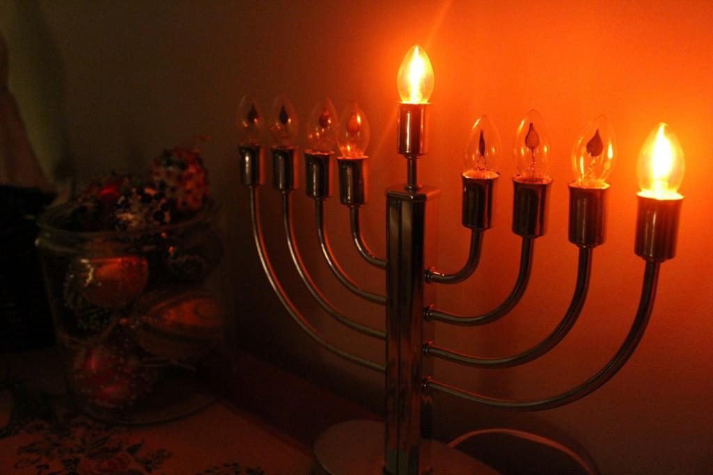 Our First Hanukkah