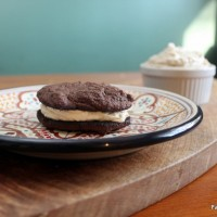 Mexican Chocolate and Vanilla Bean Whoopie Pies
