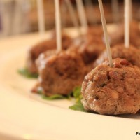 Our Easter and Mint Lamb Meatballs