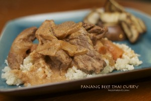 Panang Beef Thai Curry