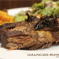 Caramelized Broth Brisket with Beef Jam