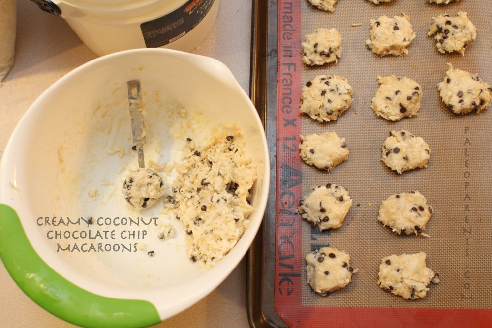 Creamy Coconut Chocolate Chip Macaroons Featured, Coconut Butter, Manna, And Concentrate - What's The Difference?! Are they the same? Paleo Parents