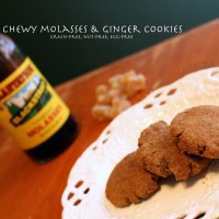 Chewy Molasses & Ginger Cookies