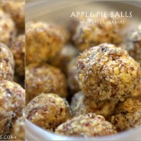 Apple Pie Balls: Nut-Free Larabar Wannabes
