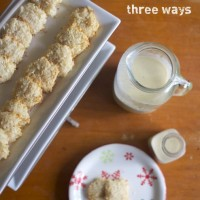 Egg Nog Three Ways
