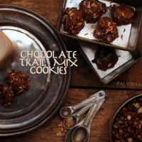 Chocolate Trail Mix Detox Cookies