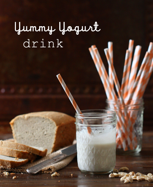 Guest Post, Spunky Coconut: Making Cashew Milk for a Yummy Yogurt Drink