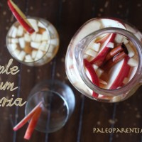 Apple Plum Sangria