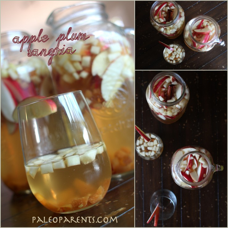Apple Plum Sangria by PaleoParents