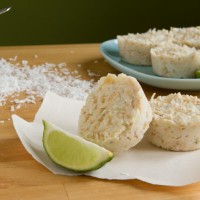 Guest Post, Healthful Pursuit: Coconut Lime Frosty Cups
