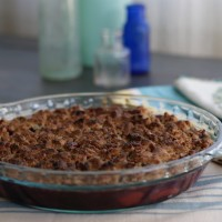 Guest Post, Rubies and Radishes: Berry Rhubarb Maple Crisp