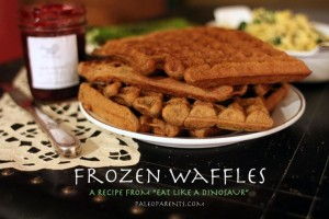 Frozen Waffles at PaleoParents