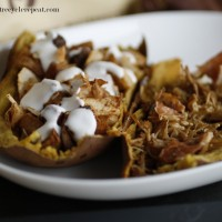 Guest Post, Eat Recycle Repeat: Stuffed Sweet Potato Skins