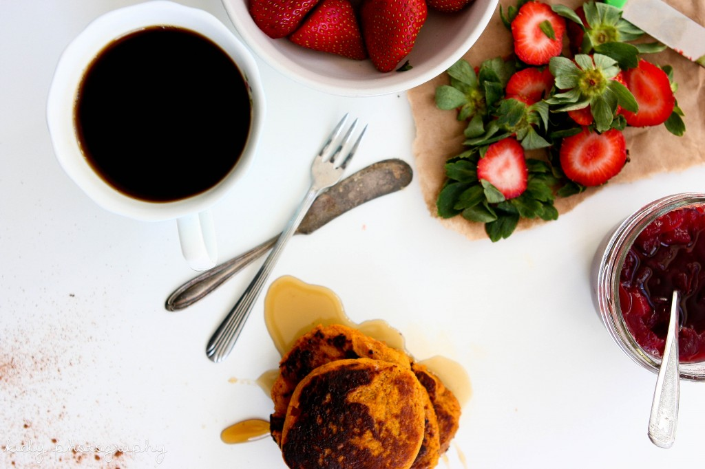 Guest Post, KatieDid: 3 Ingredient Sweet Potato Pancakes