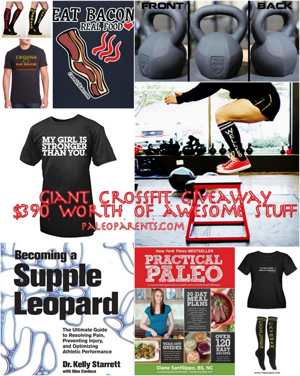 Crossfit Giveaway by PaleoParents