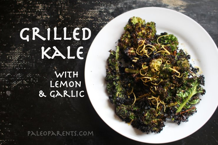 Grilled Kale by PaleoParents