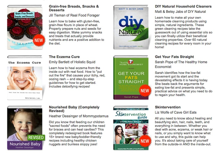VGN Spring eBook Bundle at PaleoParents (1)