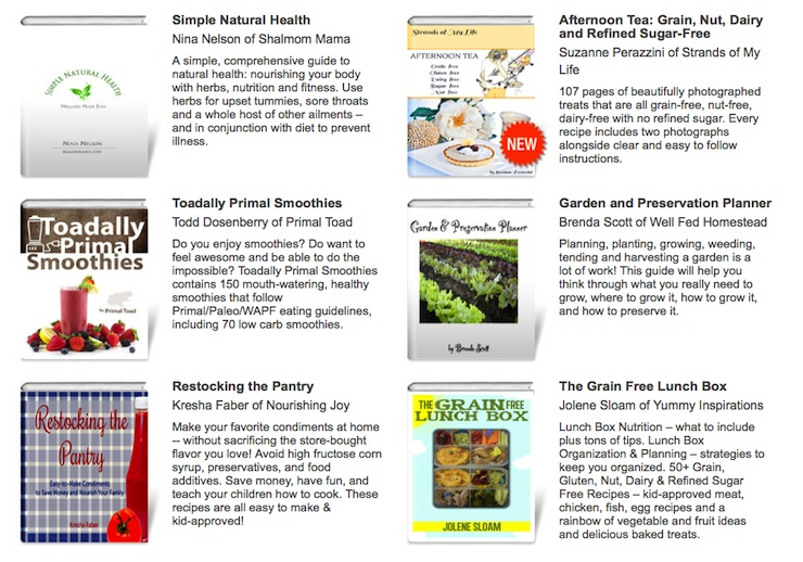 VGN Spring eBook Bundle at PaleoParents (5)