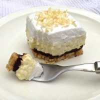 Guest Post, Living Healthy With Chocolate: Coconut Cream Pie