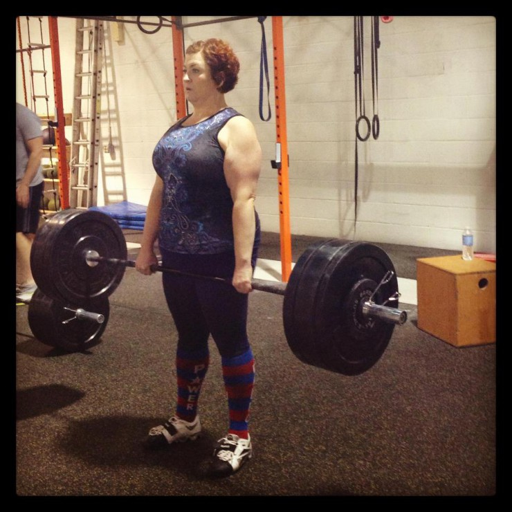 Stacy of PaleoParents Lifts Heavy
