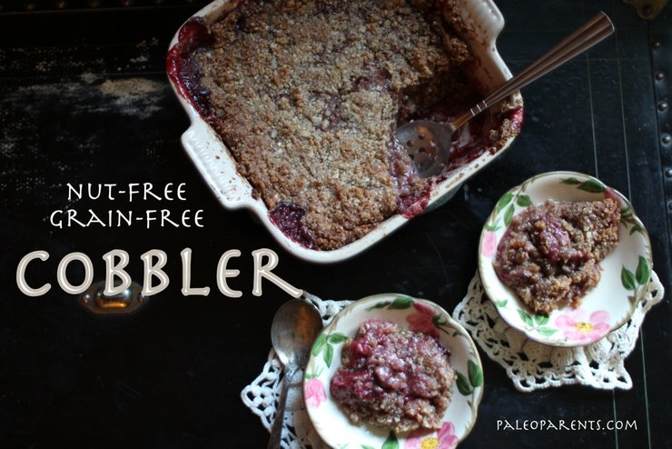 Nutfree Grainfree Cobbler from PaleoParents