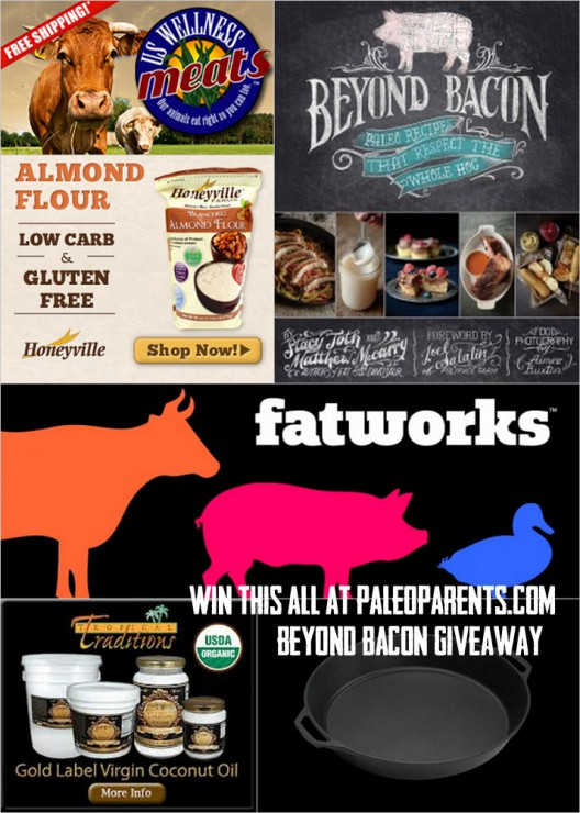 Beyond Bacon Ingredients Giveaway!