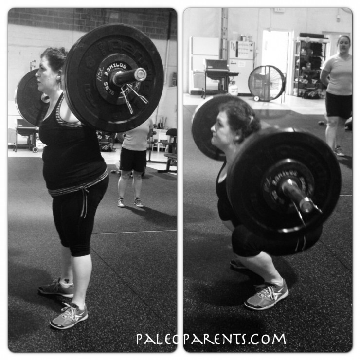 Stacy BackSquat on PaleoParents