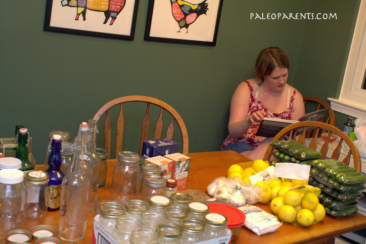 Fermented Party Prep at PaleoParents
