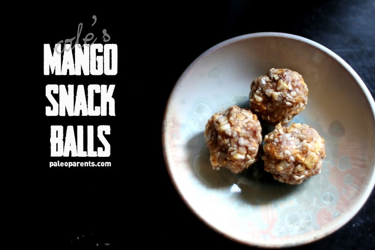 Coles Mango Snack Balls on PaleoParents