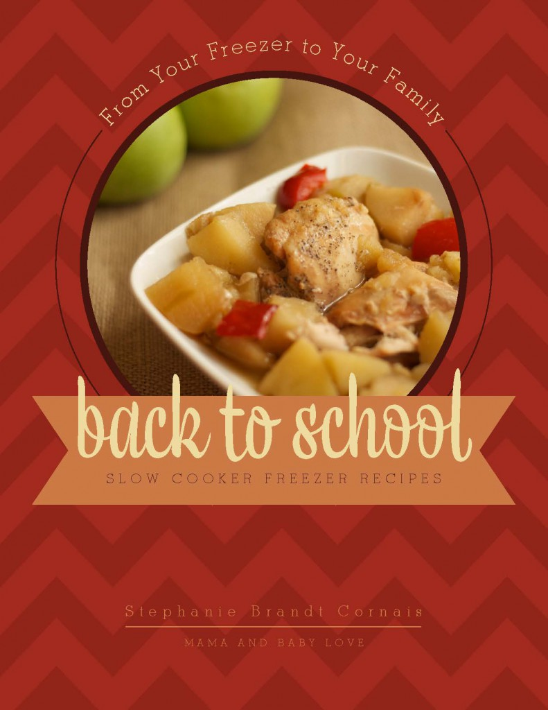 Back to School Slow Cooker Freezer3 Recipes