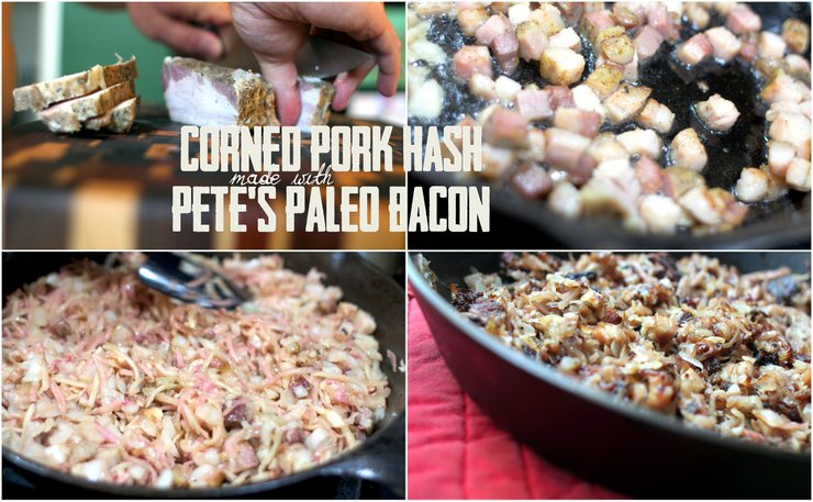 Corned Pork Hash on PaleoParents