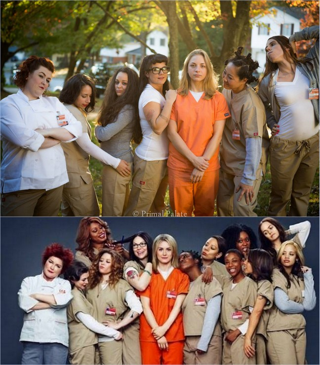 Group Costume OITNB at PaleoParents-001