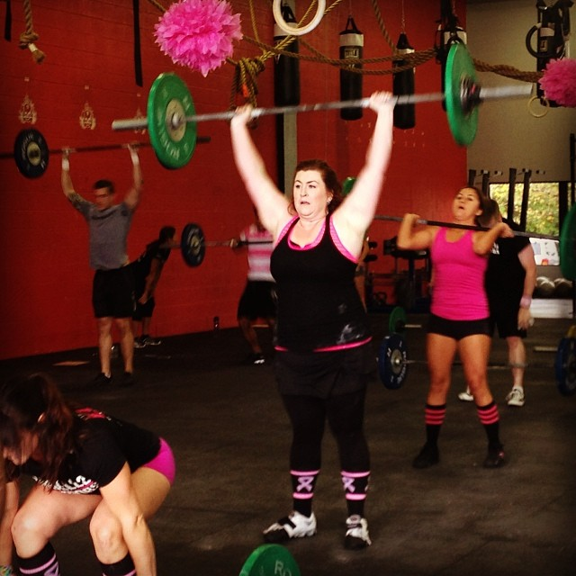 Stacy at BarbellsforBoobs on PaleoParents
