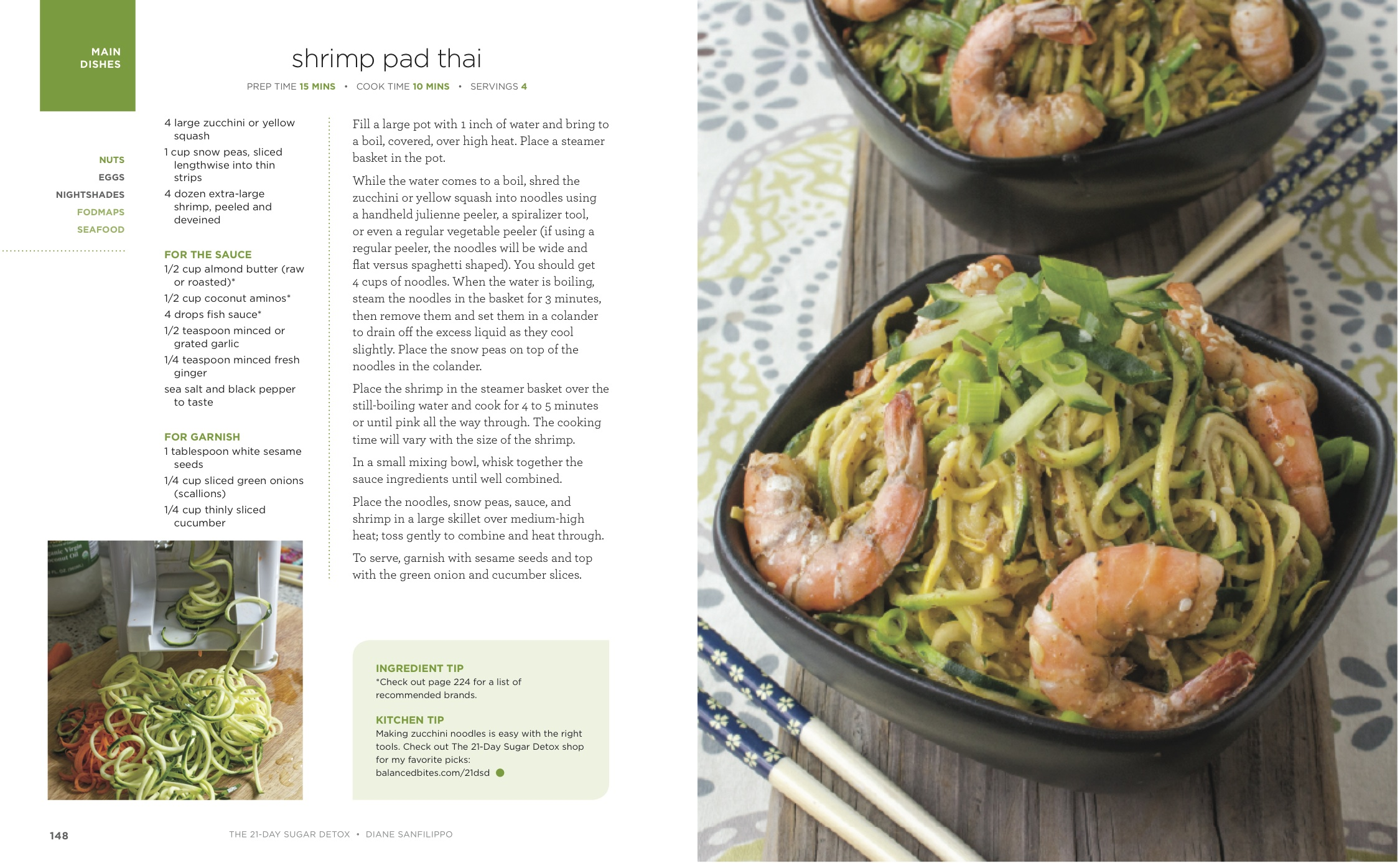 Review the 21 day sugar detox and shrimp pad thai recipe 21dsdshrimppadthaispreadpdf forumfinder Image collections