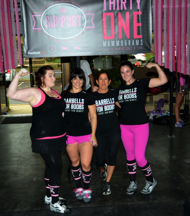 Barbells for Boobs Top Fundraisers at PaleoParents