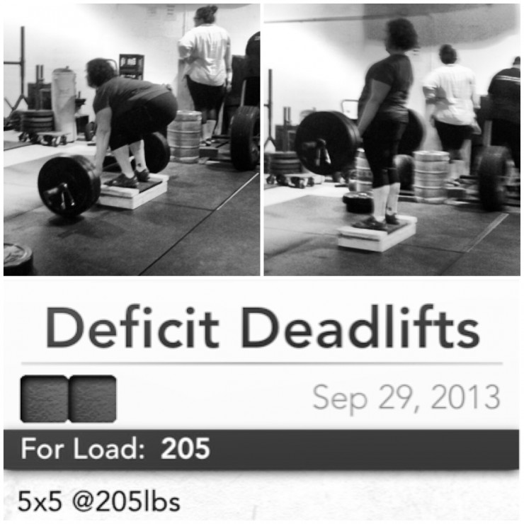 Stacy's Deficit Deadlifts