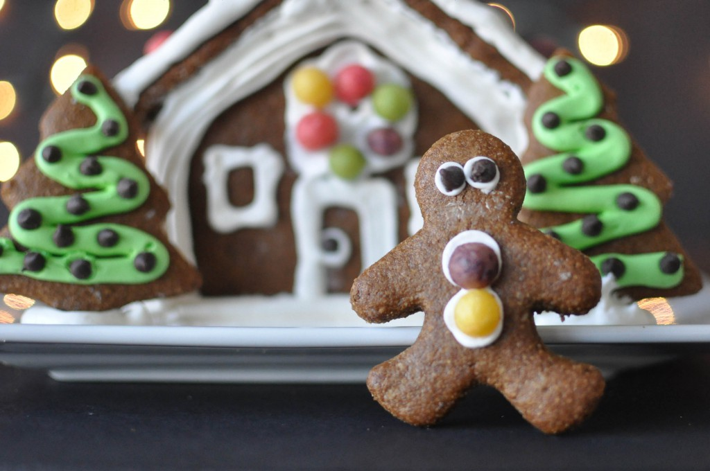 Guest Post, Fed and Fit: Paleo Gingerbread House