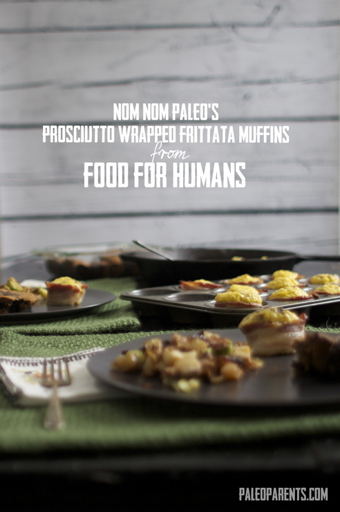 Review, Giveaway & Frittatta Muffins from Nom Nom Paleo's Food For Humans