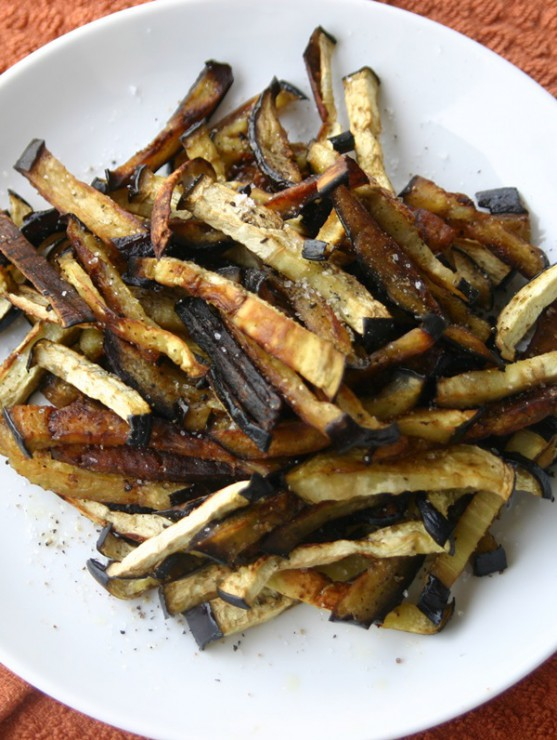 Eggplant Fries Freckled Italian