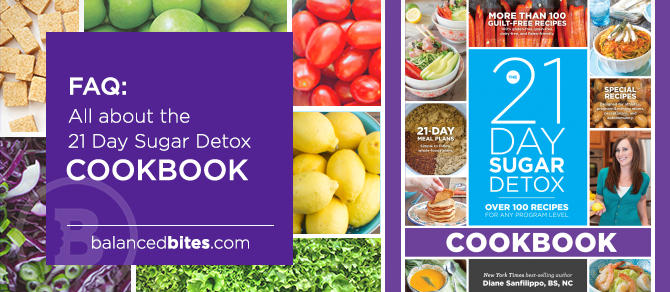Review and GIVEAWAY: 21 Day Sugar Detox Cookbook & Banana Vanilla Bean N'Oatmeal Recipe