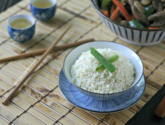Guest Post: Everyday Maven with Ginger Coconut Cauliflower Rice