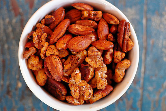 paleo-spiced-nuts - Elana's Pantry
