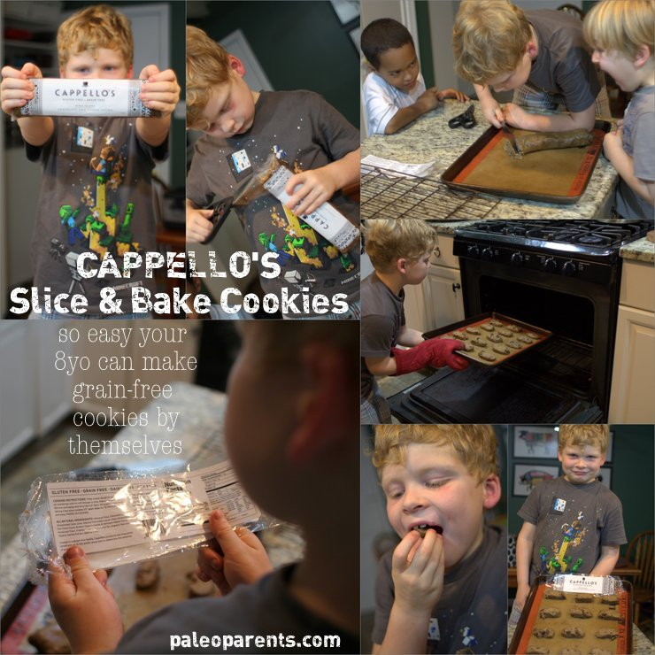 Cappellos Slice and Bake Cookies by PaleoParents