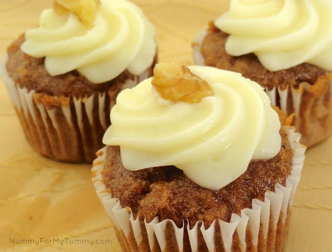 Guest Post: Nummy for My Tummy, Carrot Cupcakes