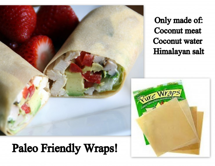 wraps collage